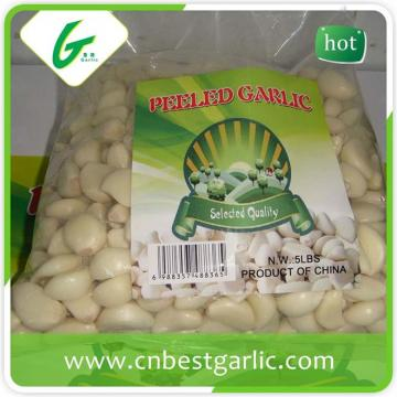 Price of one fresh peeled garlic clove