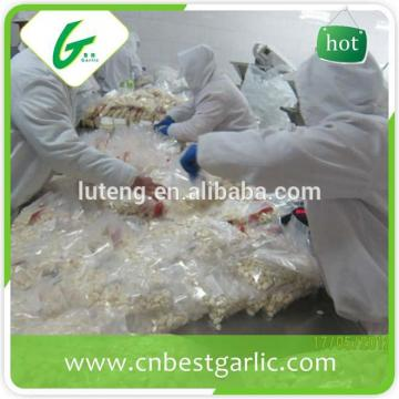 Fresh Peeled Garlic Clove Storing Peeled Garlic