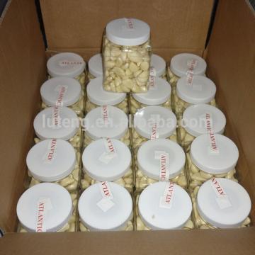 Jar packed peeled garlic from Jinxiang factory garlic peeling