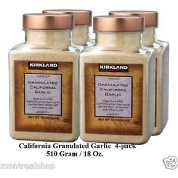 Kirkland Signature California Granulated Garlic  (4-pack)