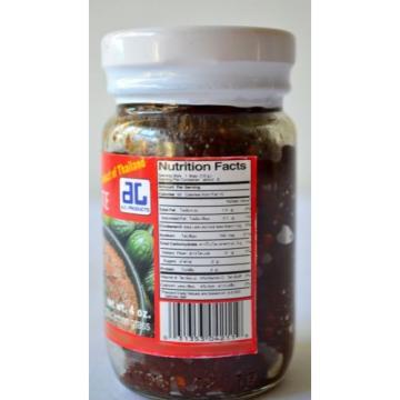 THAI CHILI PASTE #3 ~ Ingredients: fish chili sugar onion garlic lemon grass