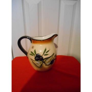 Olive Garlic Beautiful Colorful Water Pitcher Promotional Casino Gift Batavia