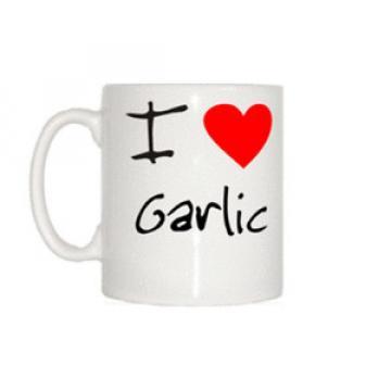 I Love Heart Garlic Mug