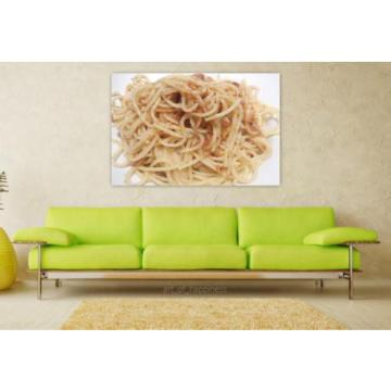 Stunning Poster Wall Art Decor Pasta Breadcrumbs Garlic Olive Oil 36x24 Inches