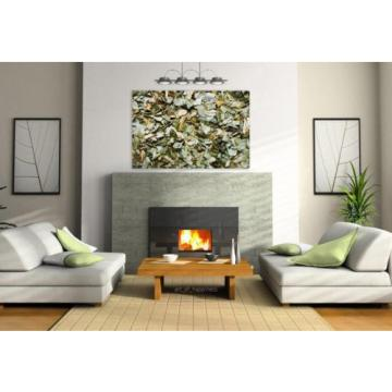 Stunning Poster Wall Art Decor Wild Garlic Dried Sliced Herb 36x24 Inches