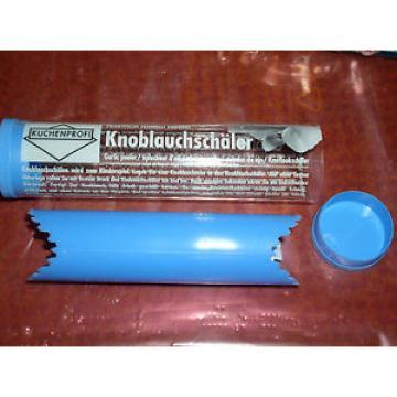 Küchenprofi 1316001200 Knoblauch-Schäler blau Garlic Peeler