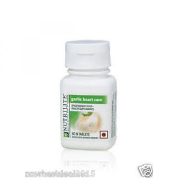 3x Amway NUTRILITE Garlic Heart Care for Lipid Levels Blood Circulation 60 tab