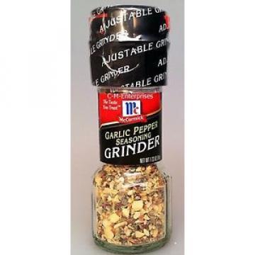 McCormick Garlic Pepper Seasoning Grinder 1.23 oz