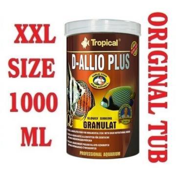 D-ALLIO PLUS Granules - Complete Food for Discus with garlic (30%) 1000ml/600g