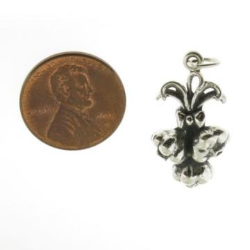 925 Sterling Silver Garlic Cloves Charm Made in USA
