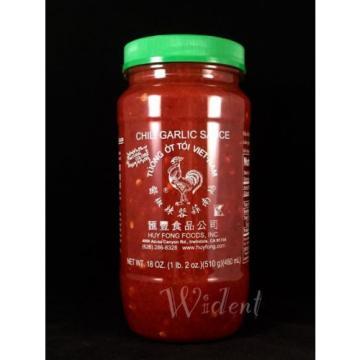 Huy Fong Vietnamese Chili Garlic Sauce 18 Oz