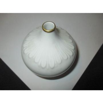 UNUSUAL SWITZERLAND SUISSE LANGENTHAL WHITE PORCELAIN GARLIC ONION OIL BOTTLE