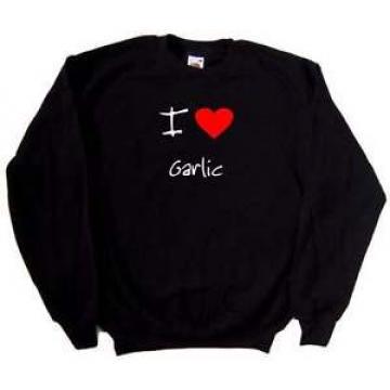 I Love Heart Garlic Sweatshirt