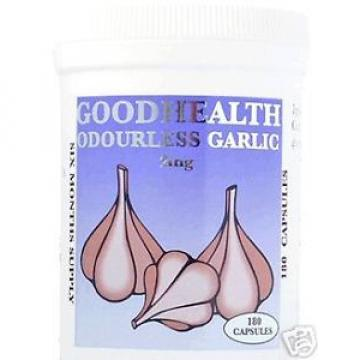 Garlic (Odourless Capsules) 6 Months supply.(FREE POST)