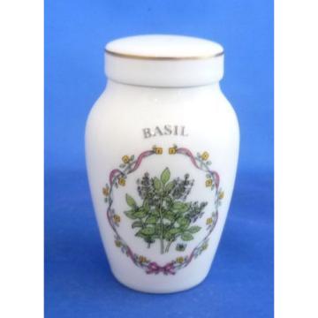 FRANKLIN MINT (GLORIA VANDERBILT CONCEPTS INC) HERB AND SPICE JARS