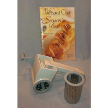 * PAMPERD CHEF * DELUXE GRATER * cheese chocolate garlic shredder