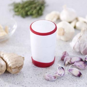 Leifheit Fine-Cut Gourmet Garlic Slicer, White and Red