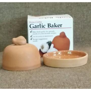 Terra Cotta Garlic Baker Keeper