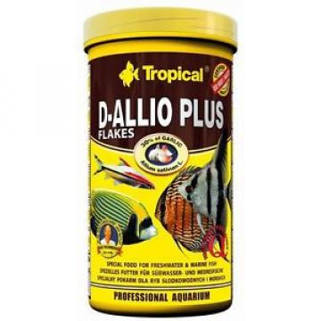 Tropical D-allio Plus Flakes food with garlic for discus and other fish