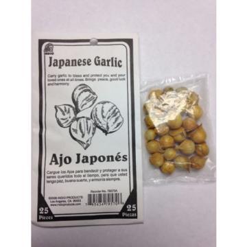 INDIO PRODUCTS GENUINE JAPANESE GARLIC (AJO MACHO) 25 PIECES