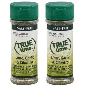 True Lime Crystallized Lime Garlic & Cilantro 2 Bottle Pack