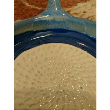 Tumbleweed Pottery Blue Garlic Grater