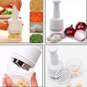 Onion Garlic Crusher Peeler Mincer Stirrer Presser Slicer Chopper Kitchen Tool
