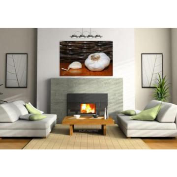 Stunning Poster Wall Art Decor Garlic Clove Of Garlic Decoration 36x24 Inches