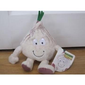 """GRACE GARLIC GOODNESS GANG PLUSH 10"""" SOFT TOY FRUIT & VEGETABLE TAGGED"""