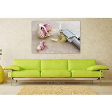 Stunning Poster Wall Art Decor Garlic Garlic Press Spice Tuber 36x24 Inches