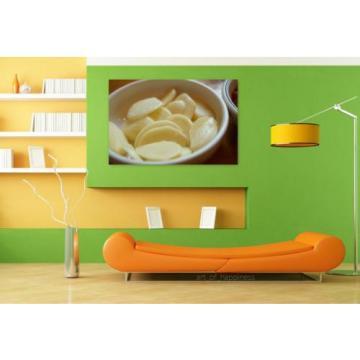 Stunning Poster Wall Art Decor Garlic Raw Garlic Land 36x24 Inches