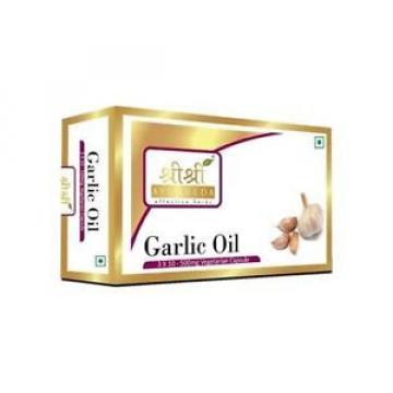 Sri Sri Ayurveda Garlic Natural Oil Antibiotic Antifungal And Antiviral 30Caps