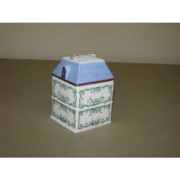 1989 The Lenox Spice Village Victorian House Jar Fine Porcelain ~GARLIC