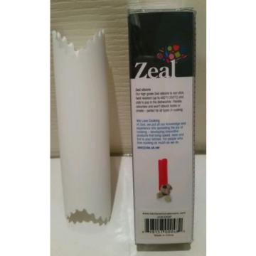 Zeal Quick and Easy Silicone Garlic Peeler Zealous British Design White