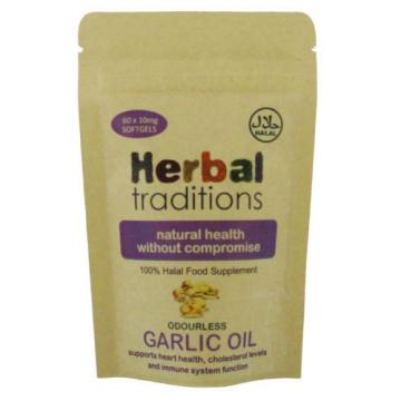 Halal Garlic Oil Softgels - for Heart Health