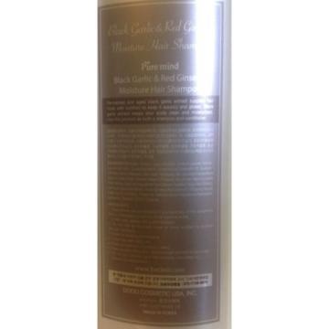 Black GARLIC & Red GINSENG Extract Moisture W/ PUMP Hair Shampoo 50.72 Oz/1500mL