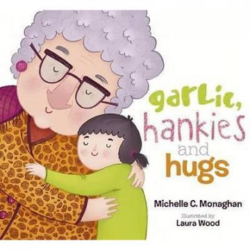 2 for 1 offer SIGNED COPY Garlic, Hankies and Hugs NEW softcover 32pg