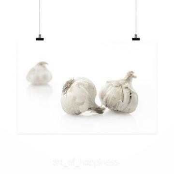 Stunning Poster Wall Art Decor Garlic Vegetables Food Substantial 36x24 Inches